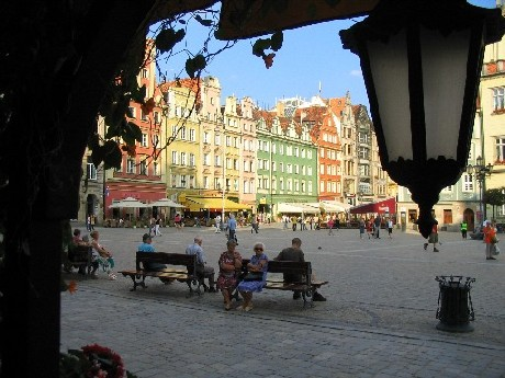 Altstadt in Breslau