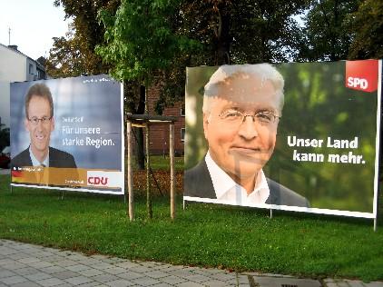 Dotychczasowi koalicjanci i teraz przeciwnicy: partie CDU i SPD