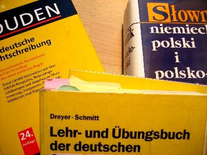 ...a do przyjemno?ci kurs j?zyka niemieckiego