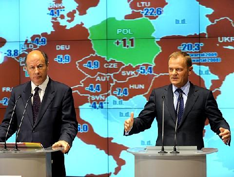 In Polen keine Rezession; Quelle: www.premier.gov.pl