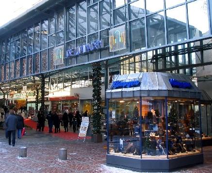 Einkaufszentrum in Leverkusen