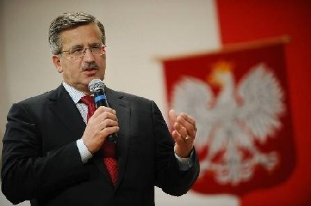 Kandydat na prezydenta: Bronis?aw Komorowski, http://www.flickr.com