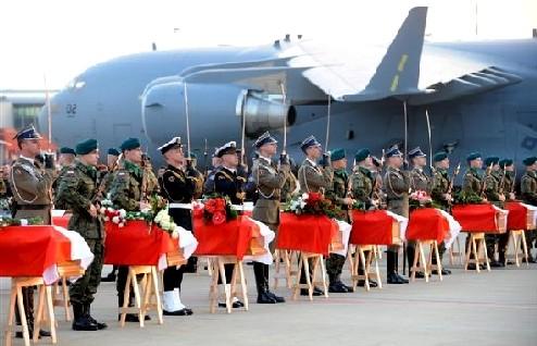 Rückführung der Opfer von Smolensk