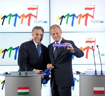 Tusk übernimmt offiziell den EU-Ratsvorsitz
