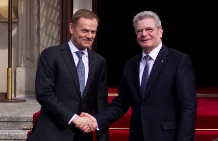 Donald Tusk i Joachim Gauck